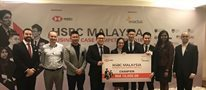 Nottingham students win HSBC Malaysia Business Case Competition for the second time