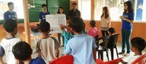 Students provide health and education support for Orang Asli villagers
