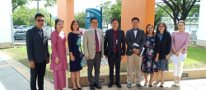 Visit from the Faculty of Liberal Arts, Thammasat University, Thailand